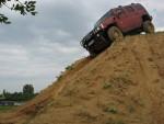 Terénna jazda vo vozidle Hummer H2