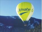 Let balónom v Alpách- prelet Álp