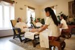 Thajská relaxačná masáž chodidiel